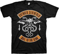 AUTHENTIC AVENGED SEVENFOLD A7X UPSSSIDE DOWN MUSIC ROCK BAND SHIRT S M L XL 2XL