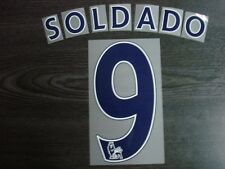 OFFICIAL Tottenham Hotspurs Home 2013-14 NAVY PS PRO NAME AND NUMBERING PRINT
