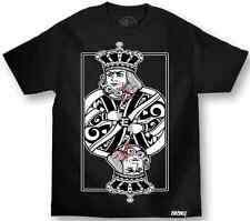AUTHENTIC MAFIOSO ENEMY OF THE STATE SUICIDE KING WITH DAGGER T TEE SHIRT S-3XL