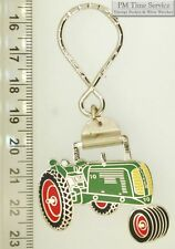 Sturdy key chain with a fancy silver-toned Oliver 70 tractor shield