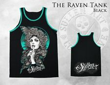 AUTHENTIC FALL '13 RARE SULLEN CLOTHING THE RAVEN TANK TOP BLK INK SHIRT S-3XL