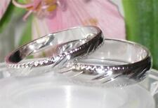 SALE 4MM 5MM MENS OR WOMENS  BRIDAL 18kGE  WEDDING BAND RING  NO STONE  R3041