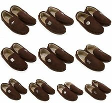 Official Football Club Team Mens Moccasins Slippers Christmas Birthday Gift