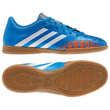 adidas Predito LZTRX IN 2013 Indoor Soccer Shoes Royal / Orange / White New