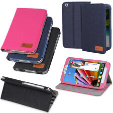 """For Samsung Galaxy Tab 3 8"""" 8.0 Inch Tablet Folio Case Cover Stand Wake Up/Sleep"""