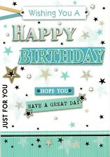 male open happy birthday card general birthday greeting card