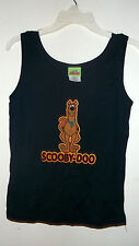 NEW jr size SCOOBY DOO TANK TOP double sided  NAVY BLUE  choice of size