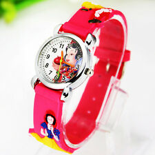 Hot ! New Cute snow white 3D Child watches children watch Christmas gifts ,CT1