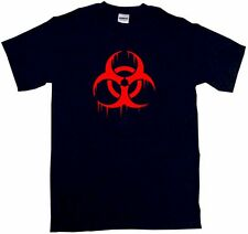 Biohazard Distressed Style Logo Men's Tee Shirt PICK Size Small - 6XL & Color