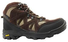 Gola Anvil Men's Dri-tec Brown Waterproof Hiking Boots With Vibram Soles New