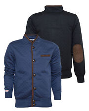NEW BNWT Mens Tokyo Laundry Michigan Button Quilted Jacket Elbow Patches