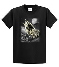Wolf T-Shirt Wolves In The Wild Howling
