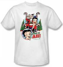 Betty Boop I want It All Christmas T-Shirt