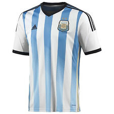 adidas Argentina World Cup WC 2014 Home Soccer Jersey Brand New Sky/White/Black