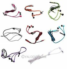 3.5mm Unique Zipper Cable Universal Plug Earbud Headphones Earset With Mic
