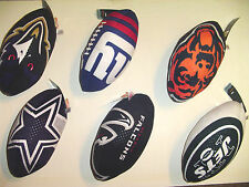 NWT U Pick 1 TY Beanie football NFL Logo Rush Zone Plush Ball Party Gift 9 inch