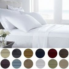 6 Piece: Presidential Collection 1800 Series Egyptian Comfort Bed Sheet Set