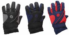 Childrens Kids Thermal Padded Ski Gloves With Palm Grip