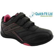 LADIES WOMENS VELCRO SPORTS GYM JOGGING RUNNING CASUAL TRAINERS SHOES SIZES 3-8