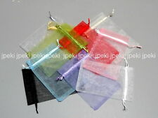 "Lot of 50 100 4"" x 6"" Organza Bags Jewelry Pouch Gift Bag Wedding A260"