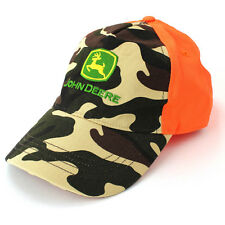 John Deere Boys Orange Trucker Baseball Hat Cap FBC2850 S/M 4-8 L/XL 10-14