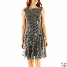 Ladies Sleeveless Lace Dress By J. Taylor New With Tag Size 4, 6  Msrp $90.00