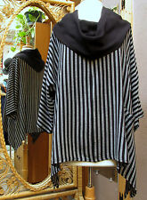 Dairi Moroccan Big Cowl One Pocket Cotton Rayon Blouse Style 2615  $98 to $105