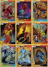 Marvel Universe Impel Series 2 (1991) Choose Any Card Complete Your Set NM LOT A