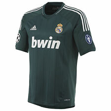 adidas Real Madrid 2012 - 2013 Third UEFA Champions League Soccer Jersey Green