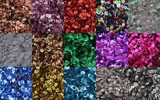 SEQUINS 6-7mm CUPPED LOOSE ROUND SEQUINS, SEWING/EMBELLISHMENTS FREE P&P