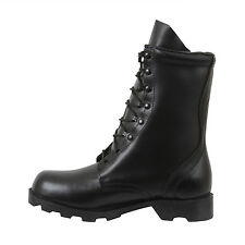 Black Leather Speedlace Military Combat Boots rothco 5094 various sizes