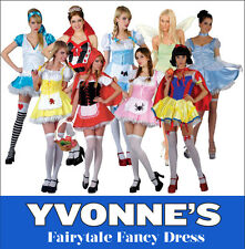 Fairytale Fancy Dress Costume Ladies Sexy Storybook