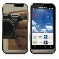 For Motorola DEFY XT XT557 Mirror Screen Protector LCD Film Shield Cover
