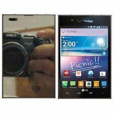 For LG INTUITION (OPTIMUS VU) VS950 Mirror Screen Protector LCD Film Cover