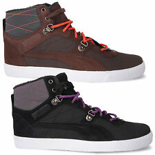 Puma Mid Trainers Shoes Tipton Winter Shoes Boots Lined Boots
