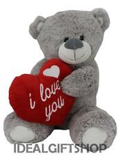 LUXURY I LOVE YOU VALENTINES DAY TEDDY BEAR PRESENT LARGE BEARS SPECIAL HEART