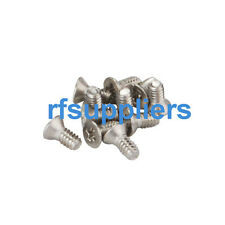 100x NEW Kinds of 2-56 Stainless steel cross Countersunk Machine Screws Bolts