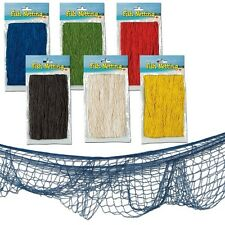 Decorative Fishing Net - Balloon Net - Party Decoration - Choose Colour