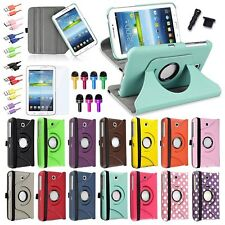 For Samsung Galaxy Tab 3 7.0 7-inch Tablet Leather Folio Cover Case/Accessories