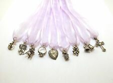 (9) Pewter CAKE PULL Charms BRIDES - WEDDINGS-3557