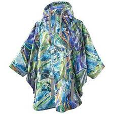 Adidas Stella McCartney Run Printed Cape Climaproof Lightweight Jacket $400 RARE