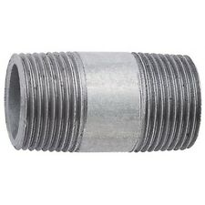 "Galvanised BSP Barrel Nipple M/M Fitting, Inc 1 1/4"", 1 1/2"", 2"""