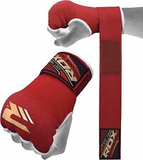 RDX Gloves Boxing Fist Inner Hand Wraps Padded Bandage Gel Muay MMA Thai Kick US