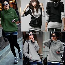 Chic Women Hoodie Pullover Hoody Coat Jacket Couples Sweatshirt Tops Long Sleeve