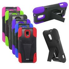 Phone Case For Straight Talk ZTE Unico Z930 LTE  Rugged Hard Cover KickStand