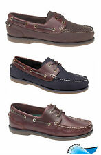 Waveline Clipper Deck Shoes Leather For Yachting Sailing