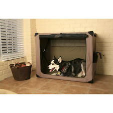 ABO Gear Aussie Naturals Dog Digs Portable Pet Crate small, medium, large sizes