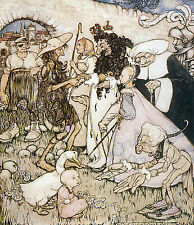 Arthur Rackham BOOK OF PICTURES 1913 Ref 24 PRINT A4 or A5 Size Unframed