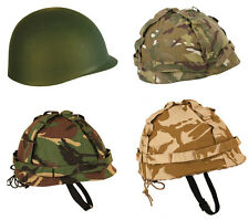 Kids Childrens Military Army Combat British Adult US Style Army Helmet Plastic