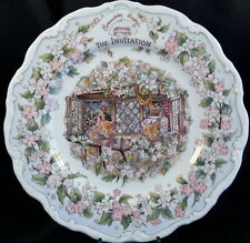 CHOICE FROM 4 BRAMBLY HEDGE SURPRISE OUTING PLATE COLLECTION BY ROYAL DOULTON
